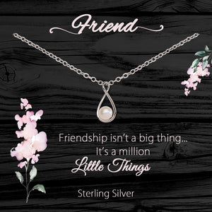Load image into Gallery viewer, Sterling Silver Meaningful Necklace and Bracelets for Friendship Gift