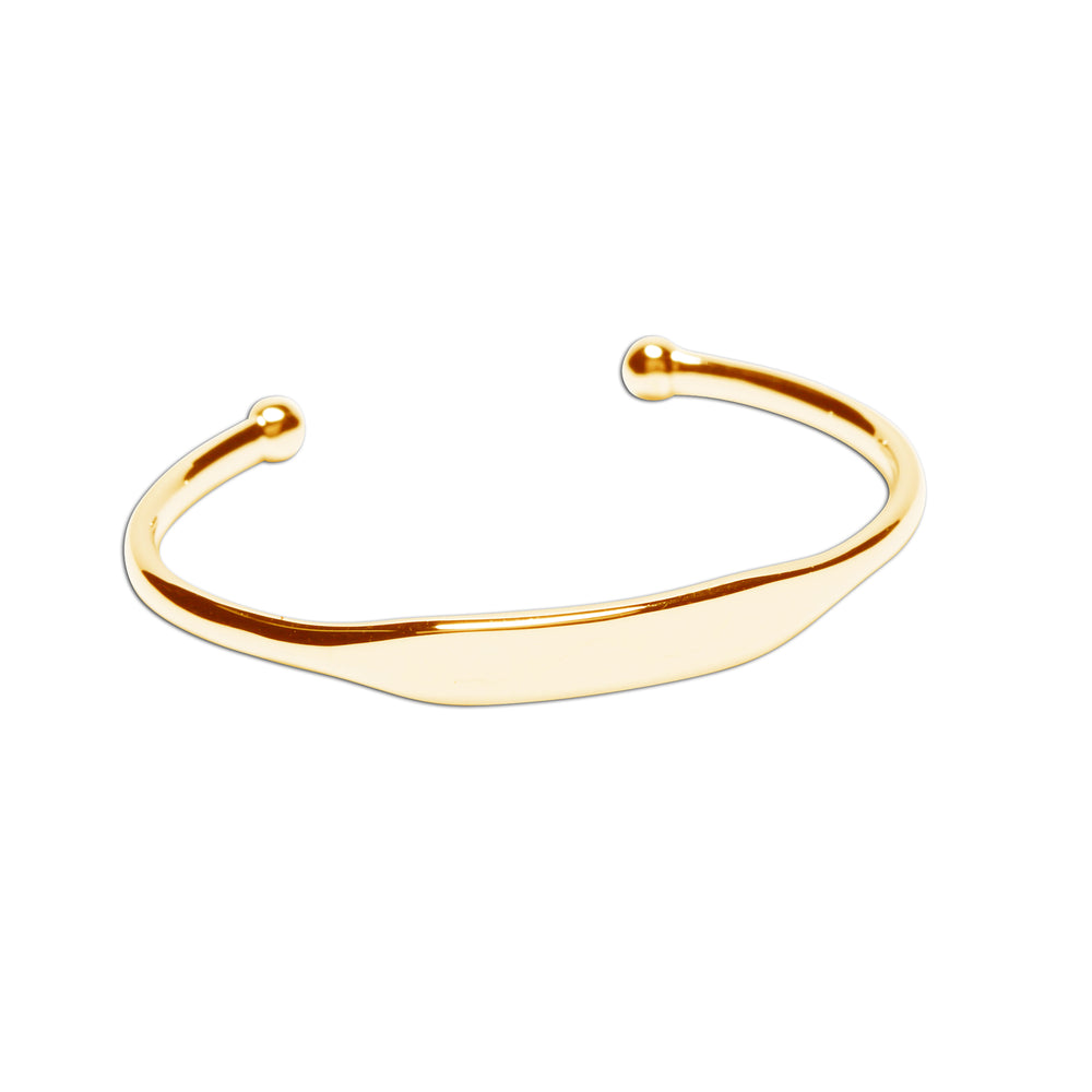 Load image into Gallery viewer, Cuff (Gold) - 14K Gold-Plated Cuff Bracelet