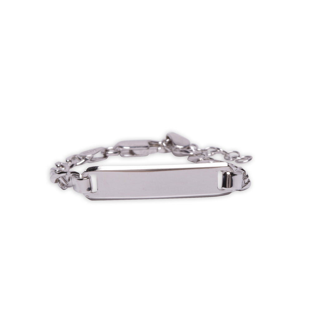 Load image into Gallery viewer, ID Bracelet (Classic) Engraved FREE - Sterling Silver I.D. Bracelet