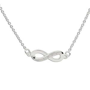 Load image into Gallery viewer, Remembrance Sympathy Gift Infinity Necklace (RGN-Infinity)