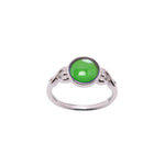 Sterling Silver Mood Ring (Round)