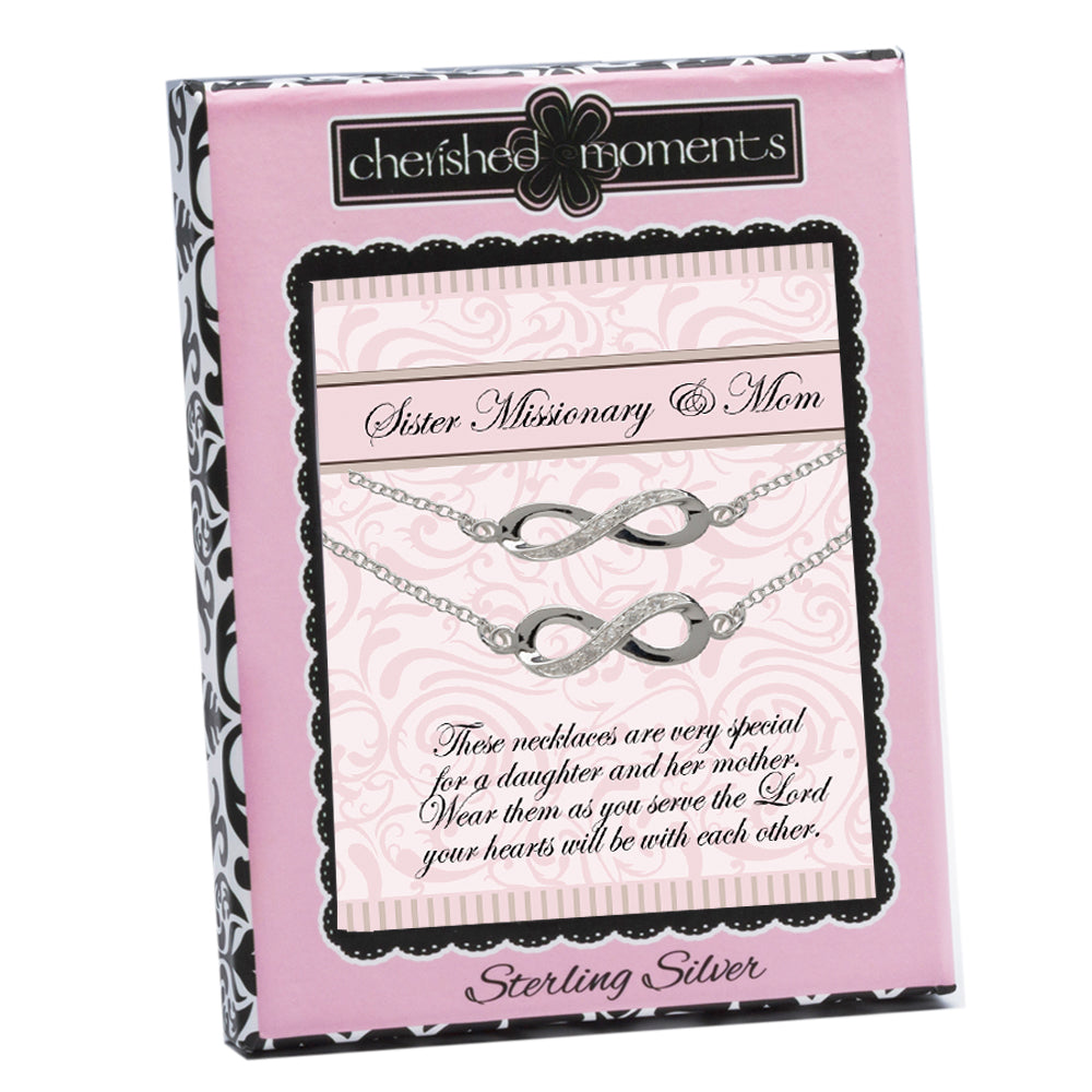 LDS Sister Missionary and Mom Necklace Set (SMMS-2PC)