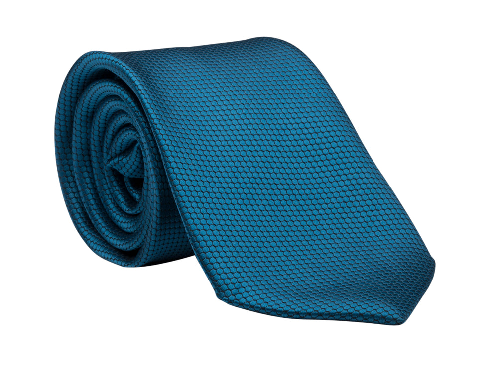 LDS Missionary Tie w/Stripling Warrior Pin (Teal)