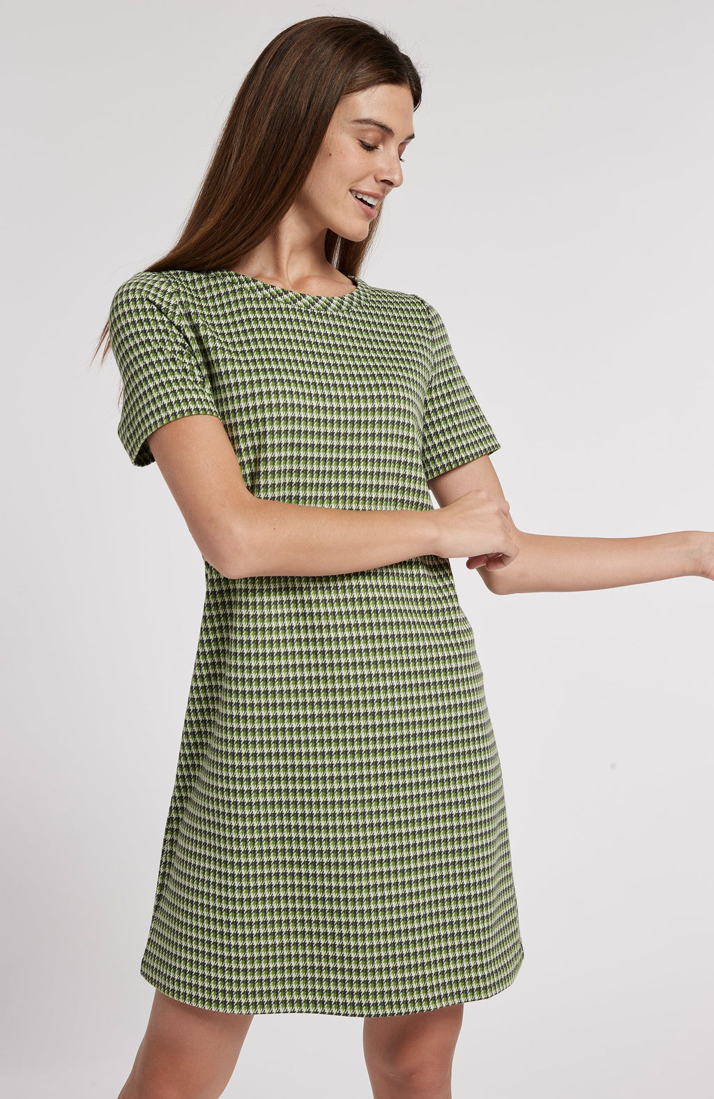 MORGAN JACQUARD DRESS - HPL TylerBoe XS HPL