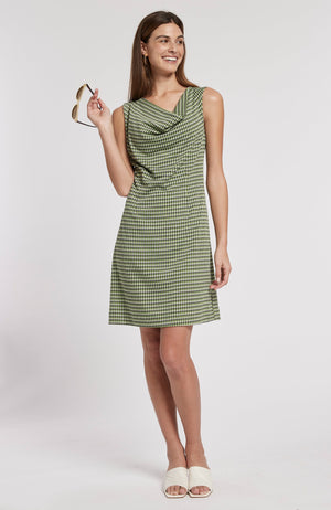 GENEVIVE JACQUARD DRESS - HPL TylerBoe