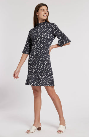 MINDY JACQUARD DRESS - CMN TylerBoe