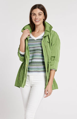 NEWPORT RAIN SLICKER - LIME GREEN TylerBoe