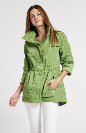 NEWPORT RAIN SLICKER - LIME GREEN TylerBoe XS LIME GREEN