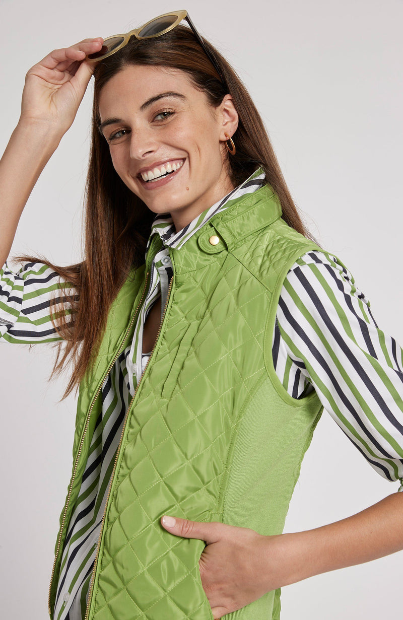 MOTO VEST - LIME GREEN TylerBoe XS LIME GREEN
