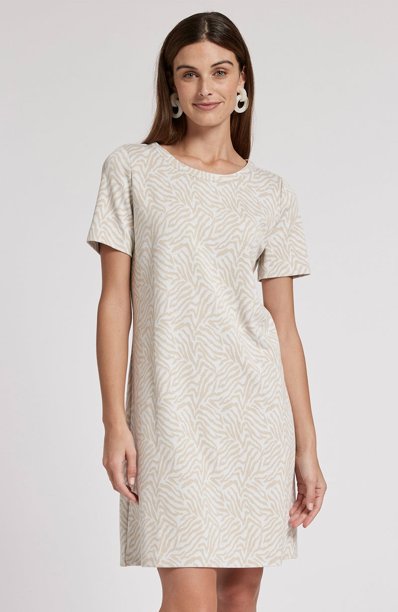 MORGAN JACQUARD DRESS - ZOW TylerBoe XS ZOW