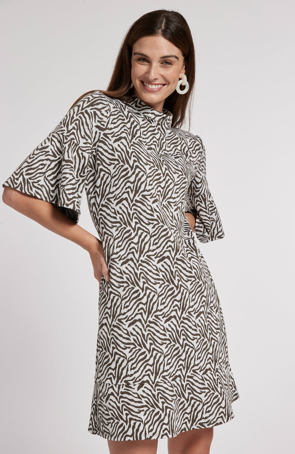 MINDY JACQUARD DRESS - ZCW TylerBoe XS ZCW