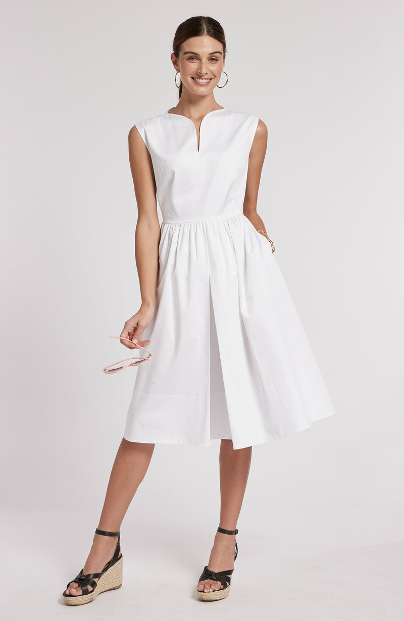 PENNY DRESS - WHITE
