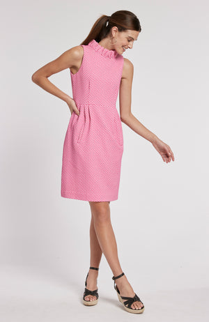 ERICA JACQUARD DRESS - MDP
