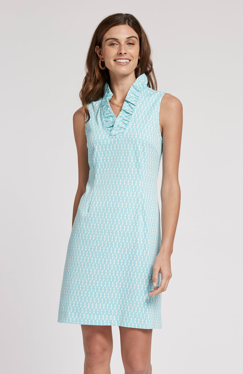 CONSTANCE JACQUARD DRESS - BST