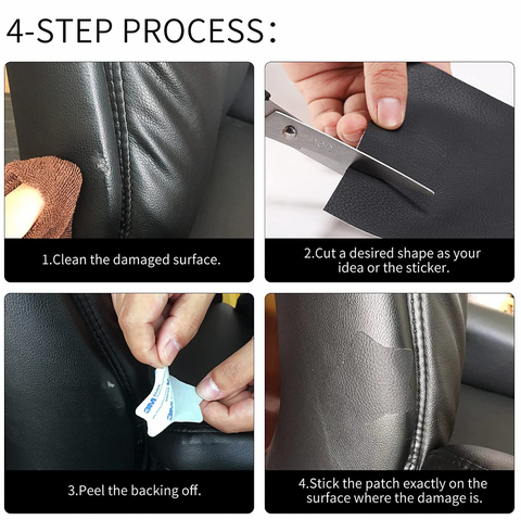 leather repair, leather fix, leather nidfashions, Leather and Vinyl Restore Patch