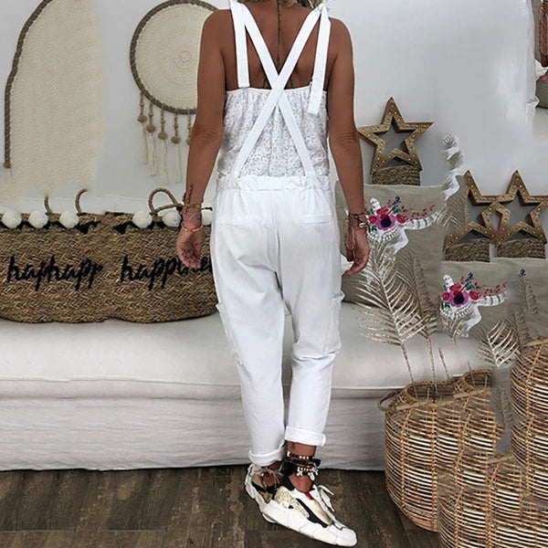 Fashionnia-Loose Leisure Large Code Jumpsuits
