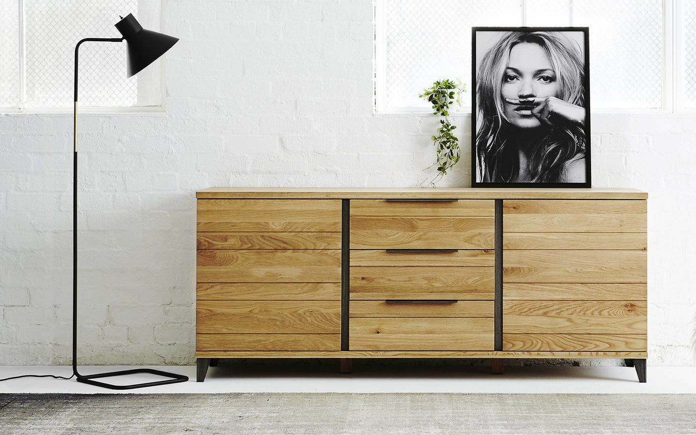 White or Black the Modern Sideboard Curious Grace