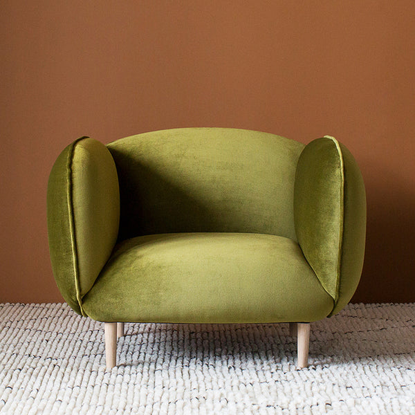 Mellow Chair Velvet Occasional Curious Grace