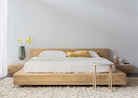 Ethnicraft Madra Bed in oak when less is more