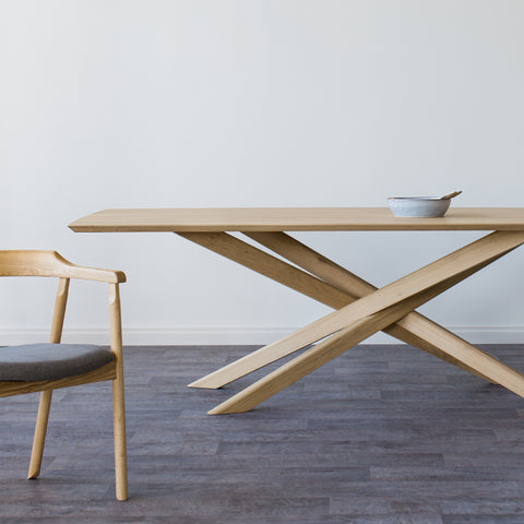 Ethnicraft Mikado Dining Table when less is more