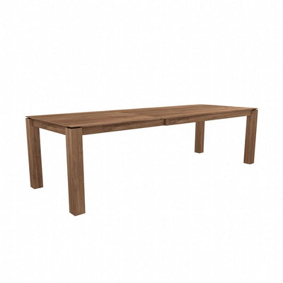 Ethnicraft Teak Slice Extendable Dining Table