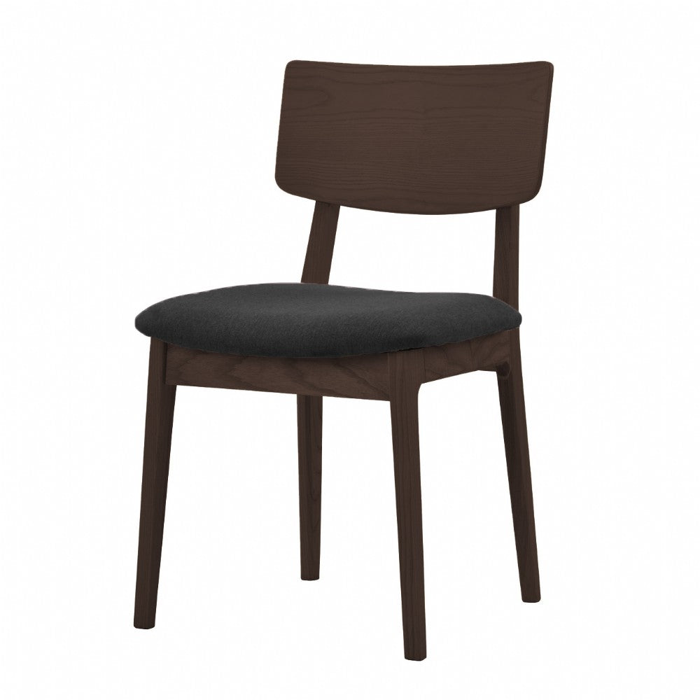 NOFU 597 Dining Chair - Black/Walnut