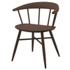 NOFU 651 Dining Chair - Walnut