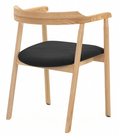 buy NOFU 737 Dining Chair - Black/Natural Ash online