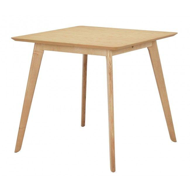 NOFU 886 Square Dining Table - Natural Ash