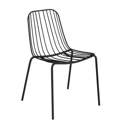 Resonate Cafe Dining Chair Black