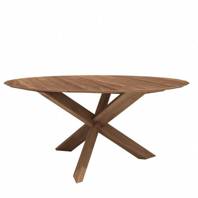 buy Ethnicraft Teak Circle Dining Table online