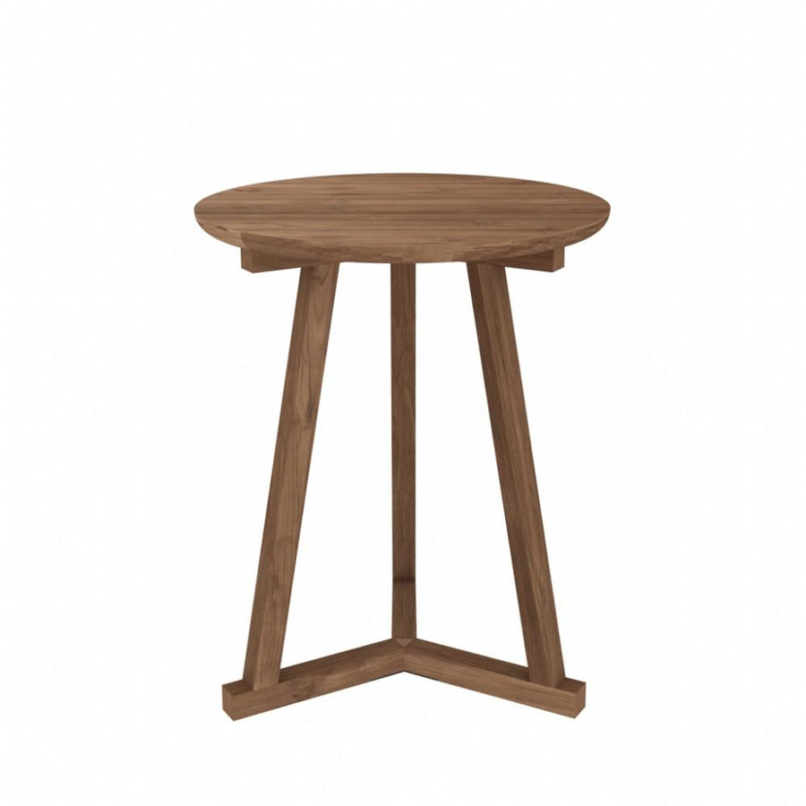 Ethnicraft Teak Tripod Side Table