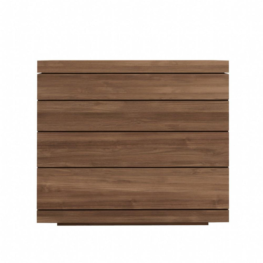 Ethnicraft Teak Burger chest of drawers - 4 drawers