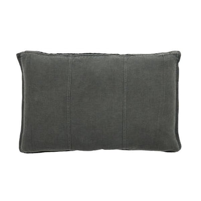 buy 100% Pre-washed Slate Linen Cushion online
