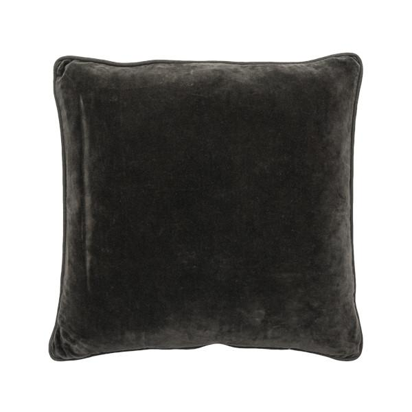 buy 100% Cotton Coal Velvet Cushion online