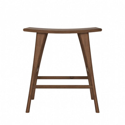 Ethnicraft Walnut Osso Stool