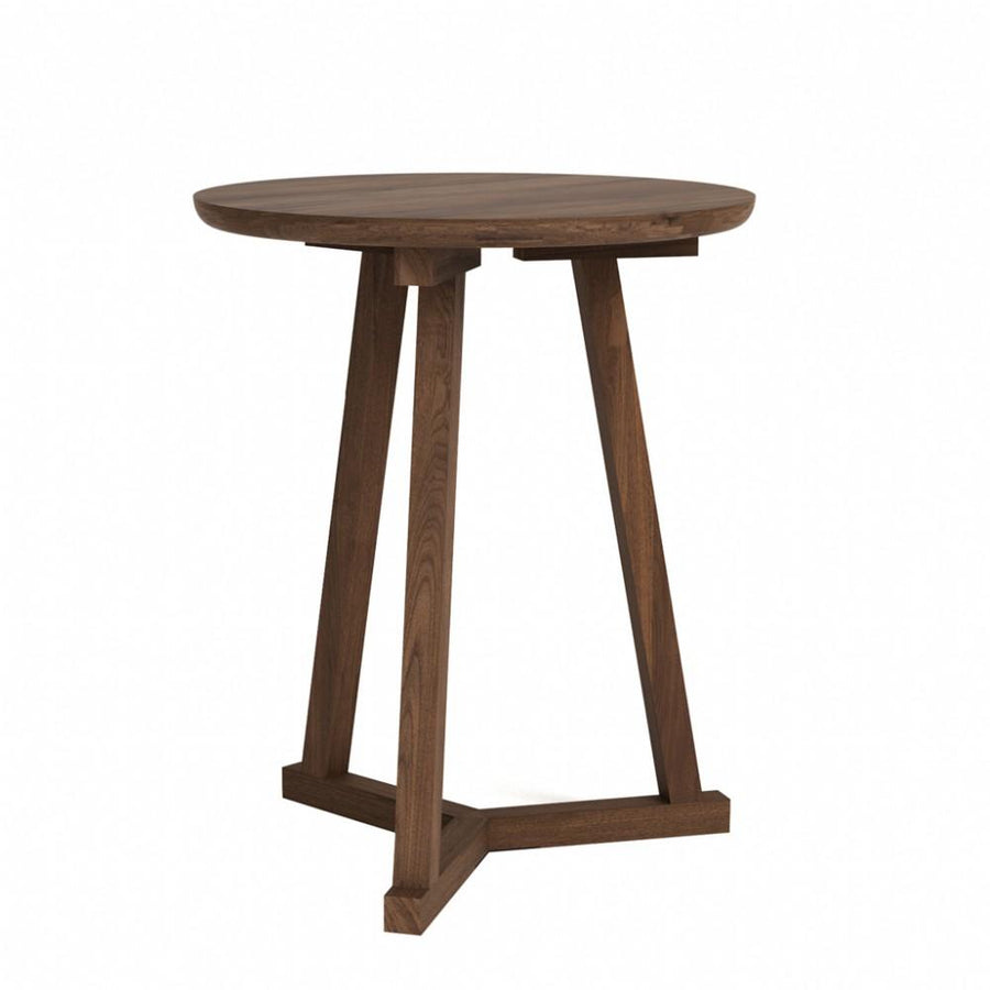 Ethnicraft Walnut Tripod side table