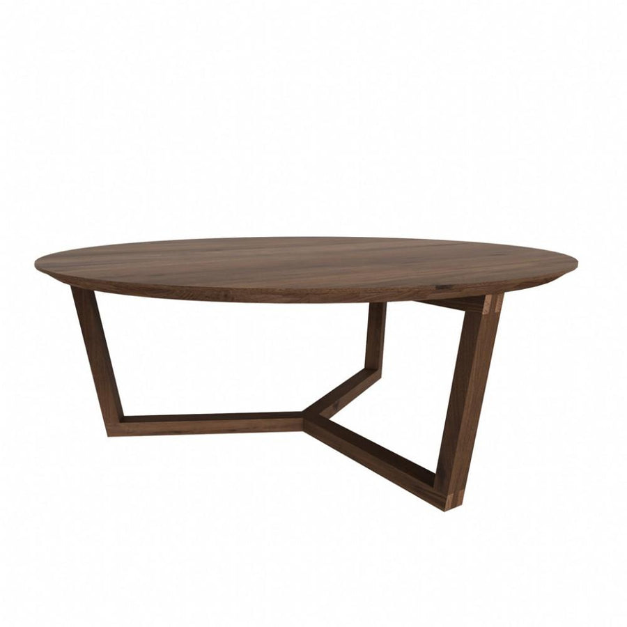 Ethnicraft Walnut Tripod coffee table