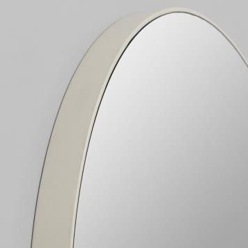 Round Flynn Mirror in Grey