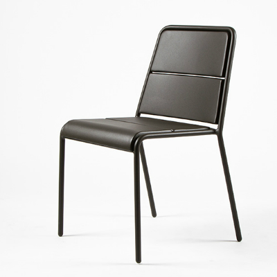Maiori A600 Dining Chair Charcoal