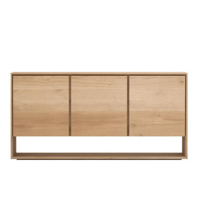 Ethnicraft Oak Nordic Sideboard with 3 doors