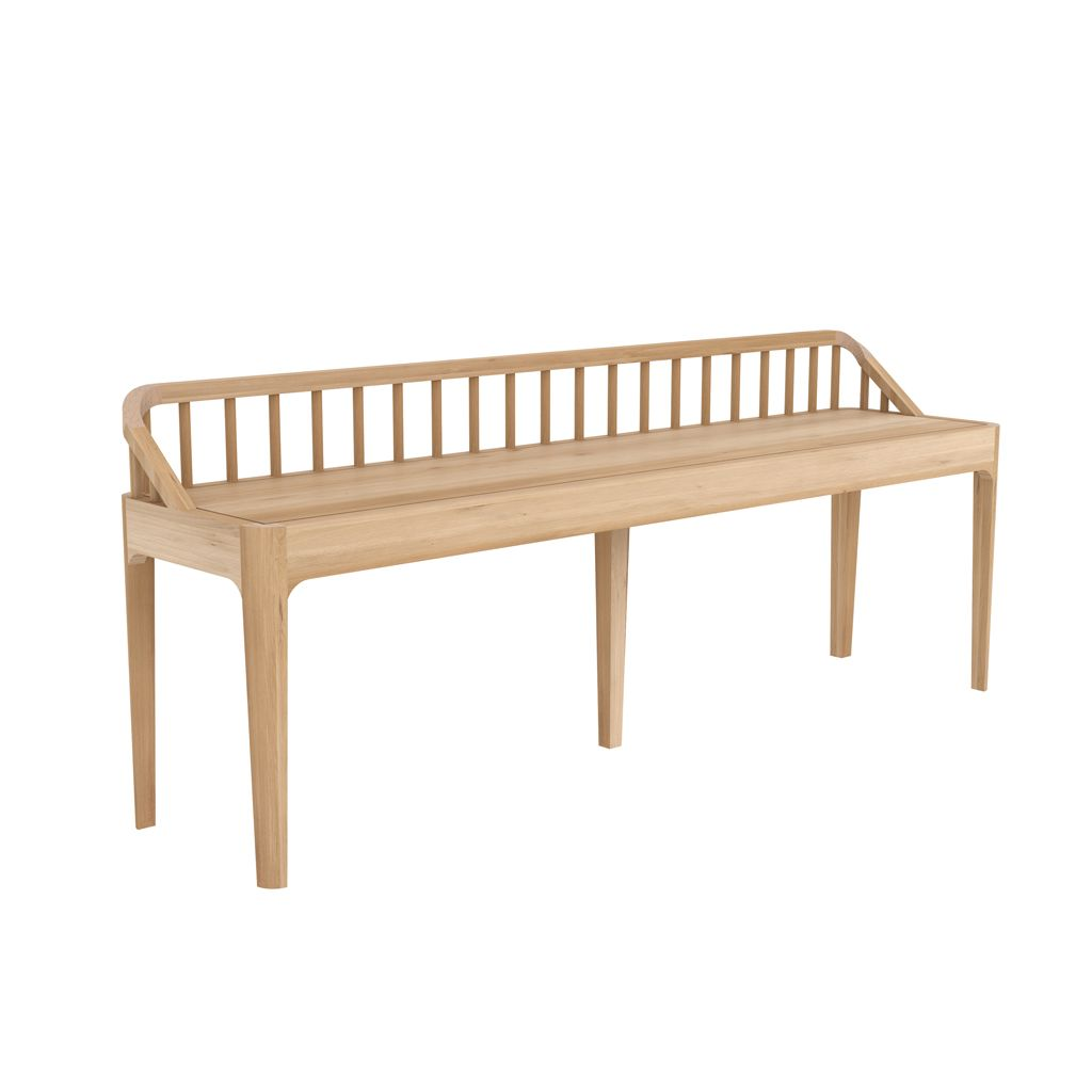 buy Ethnicraft Oak Spindle Bench online