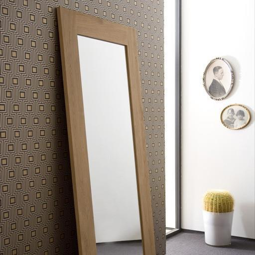 buy Ethnicraft Oak mirror 200 online