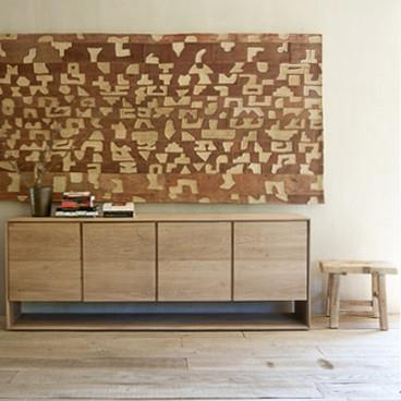 Ethnicraft Oak Nordic Sideboard with 4 doors