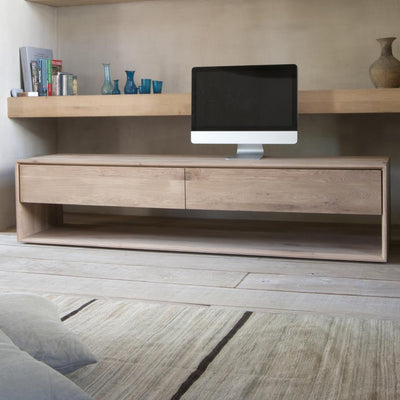 Ethnicraft Oak Nordic TV Unit- Large