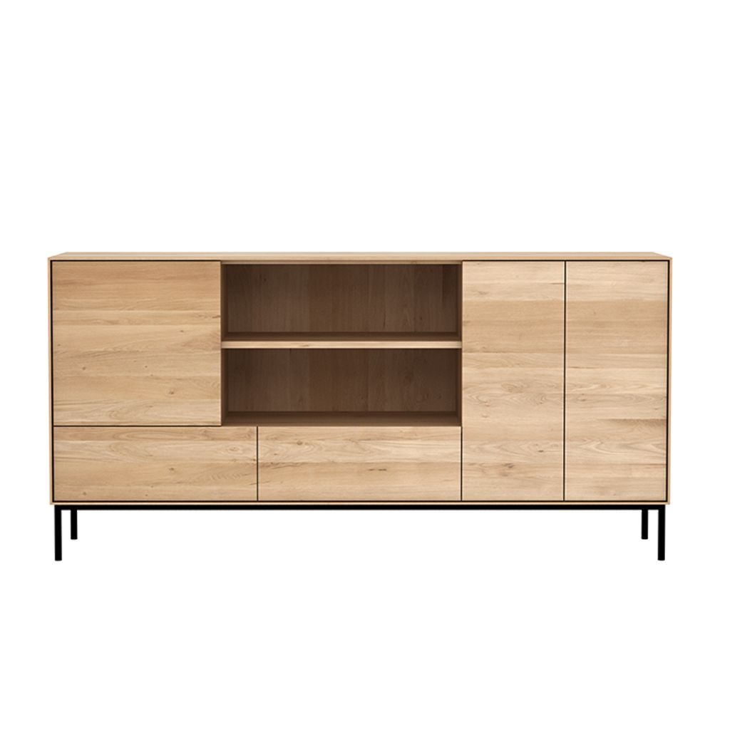 buy Ethnicraft Oak Whitebird Sideboard - 3 Doors / 2 Drawers online