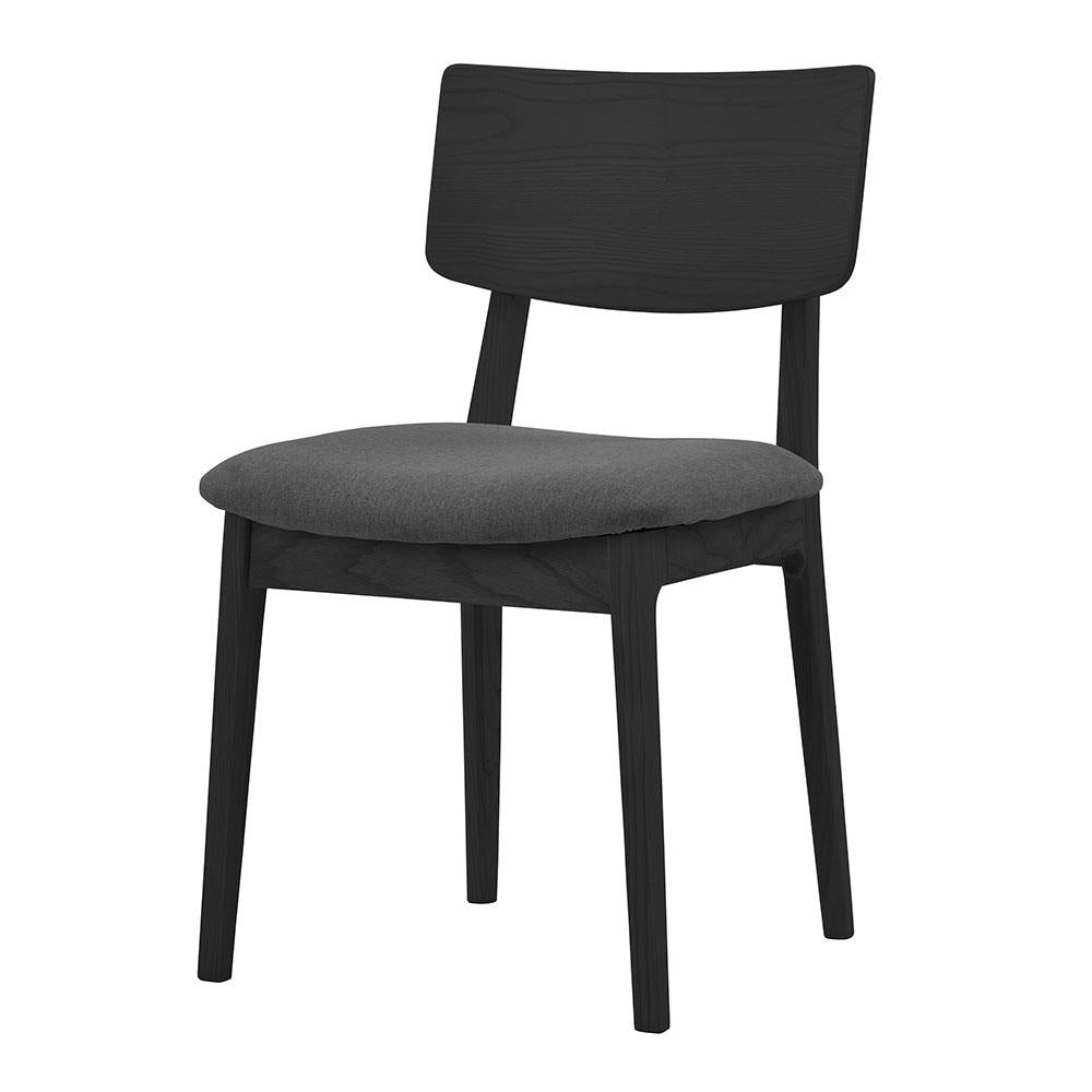 buy NOFU 597 Dining Chair - Black/Slate Grey online