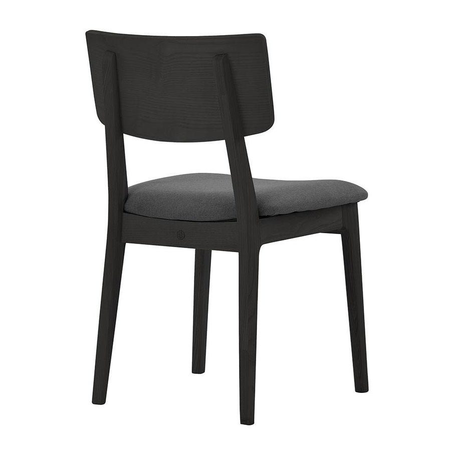 NOFU 597 Dining Chair - Black/Slate Grey