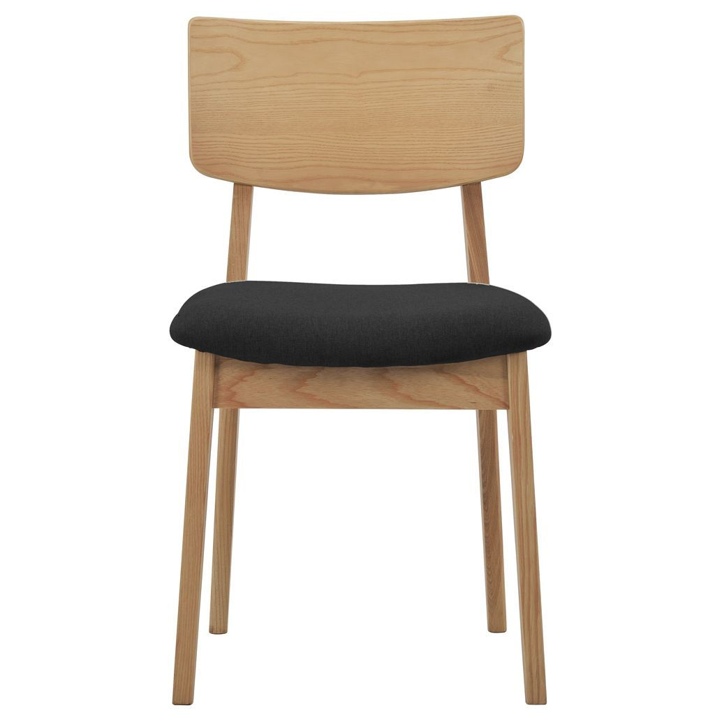 buy NOFU 597 Dining Chair - Black/Natural Ash online