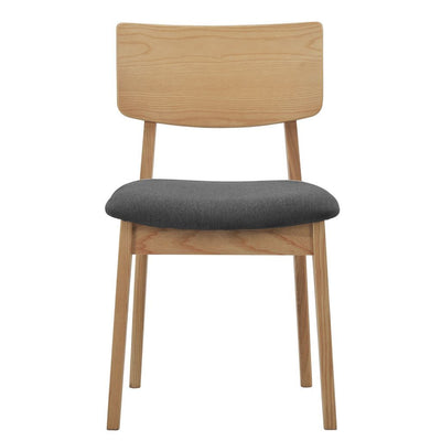 NOFU 597 Dining Chair - Slate Grey/Natural Ash